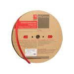Трубка термоусаживаемая ТУТ EKF PROxima 8/4 черная рулон 100 м