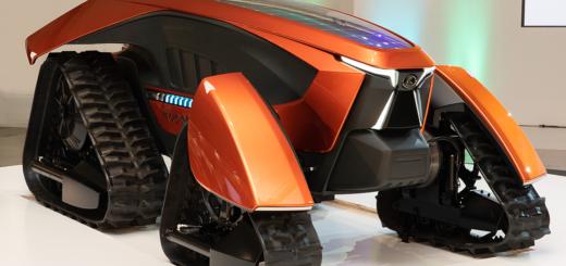 Японский роботрактор