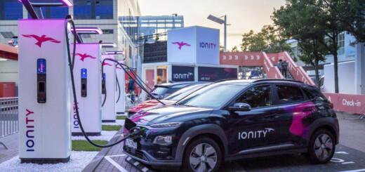 Зарядка электромобиля в сети IONITY подорожает в пять раз