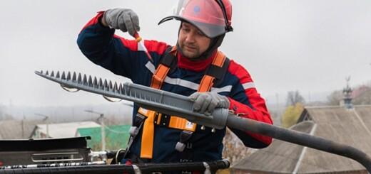 Белгородэнерго устанавливает светильники с индивидуальным управлением