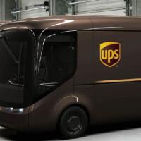 UPS создает парк электромобилей