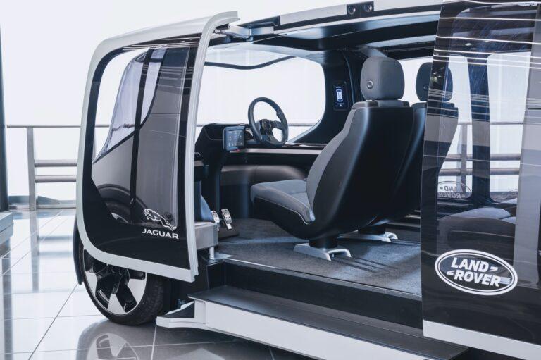 Jaguar Land Rover представил концепцию городского транспорта будущего