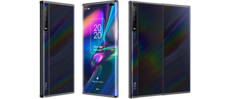 TCL представила концепт планшетофона с выдвижным дисплеем
