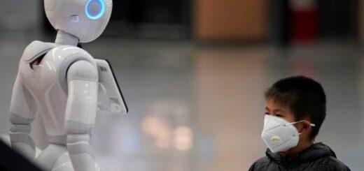 В Китае создали робота, который поможет диагностировать коронавирус