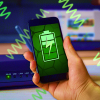 Предложена идея графенового устройства для зарядки электроники через Wi-Fi