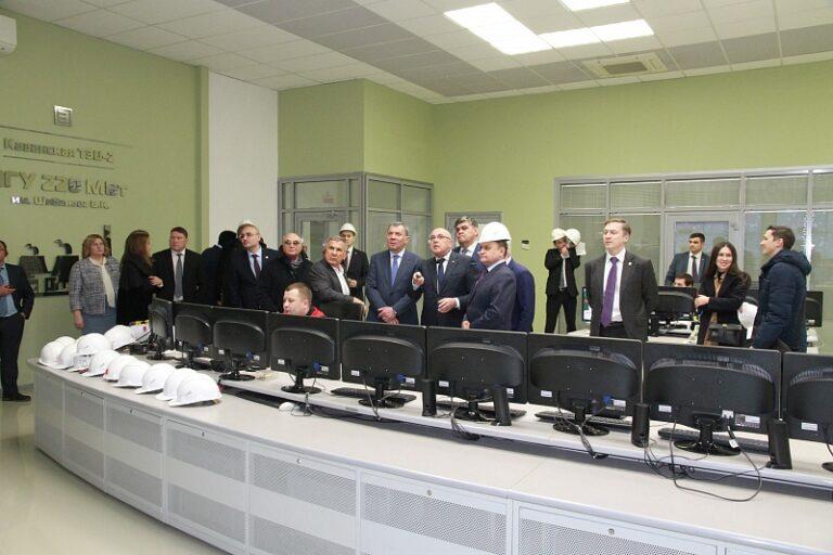 Заместитель Председателя Правительства РФ Юрий Борисов побывал на Казанской ТЭЦ-2
