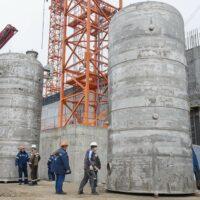 На Курской АЭС-2 установлено первое оборудование отдела химических технологий