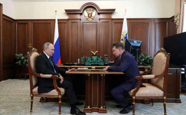 Путин поручил Газпрому приступить к проекту «Сила Сибири-2»