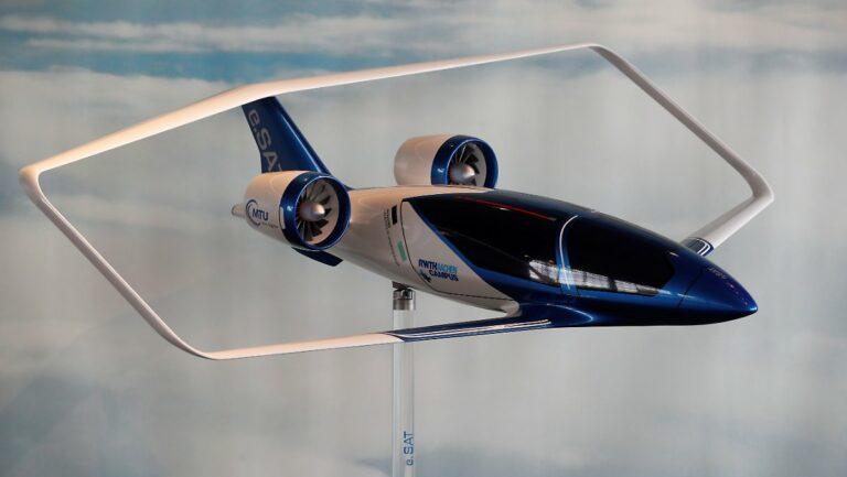 Немецкий стартап e.SAT разработает бесшумное аэротакси