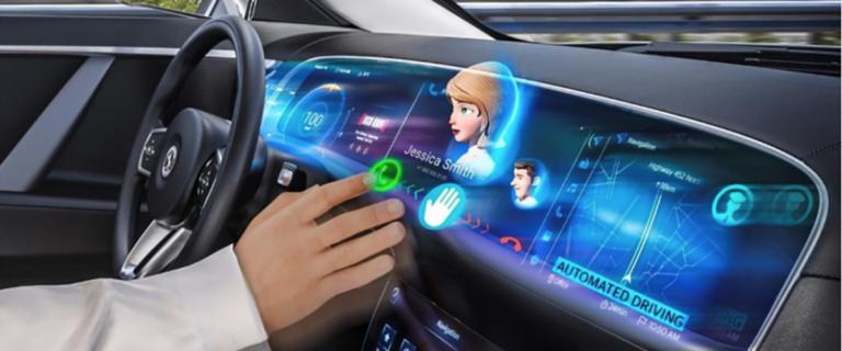 Continental готова запустить в производство стереодисплей для автомобилей