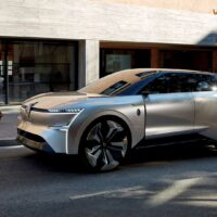 Renault представила концепт электрического трансформера Morphoz