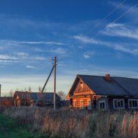 Вологодскую деревню обесточила частная подстанция