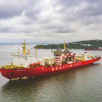 Атомный контейнеровоз «Севморпуть» доставит груз на архипелаг Земля Франца-Иосифа