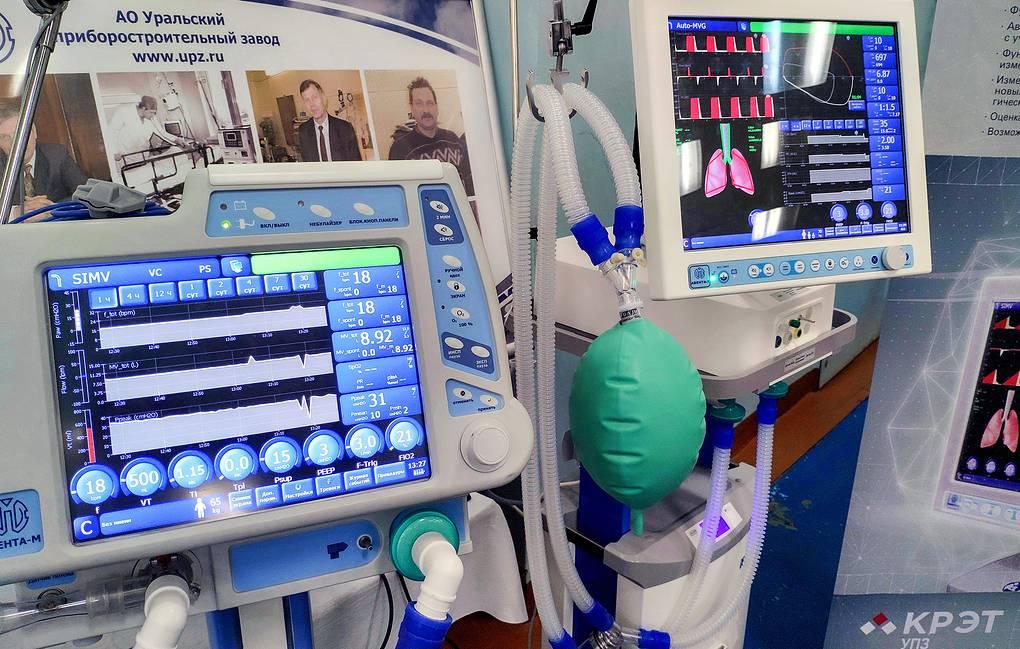«Концерн радиоэлектронные технологии» начал поставки аппаратов ИВЛ в регионы