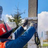 «Белгородэнерго» обеспечило освещение братских могил в селах области