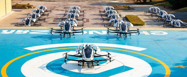 EHang построит в Китае вокзал для аэротакси