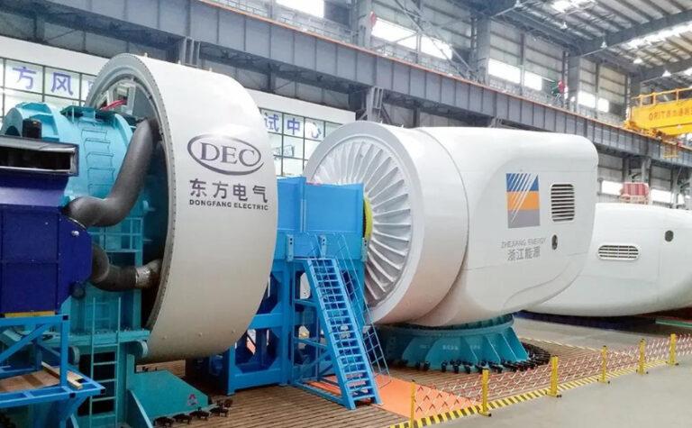 В Китае создана ветротурбина, способная выдержать тайфун