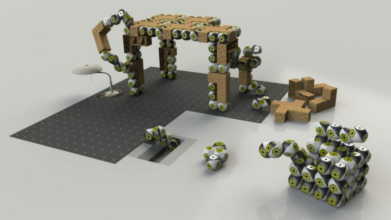 Модульные роботы «Roombots» превратят любую мебель в умную