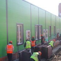 В Калининграде построили электросетевую инфраструктуру для модульного инфекционного центра