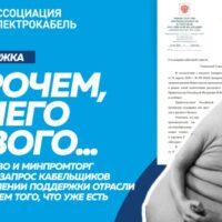 """Ассоциации """"Электрокабель"""" ответили на письмо Михаилу Мишустину"""