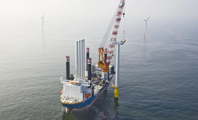 """Голландцы смоделируют производство """"зеленого"""" водорода на базе ветропарка в Северном море"""