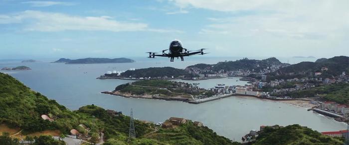 Китай первым в мире разрешил полеты тяжелых пассажирских дронов