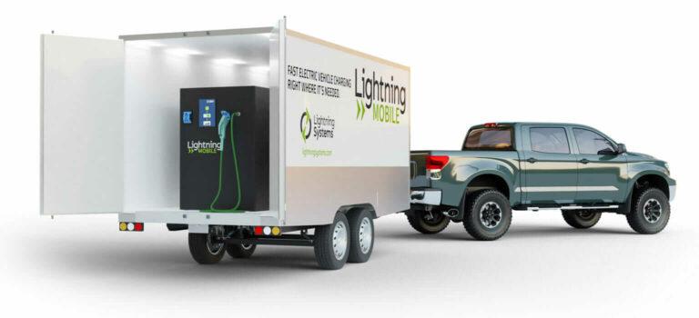 Lightning Systems анонсируют мобильное зарядное устройство постоянного тока для коммерческих электромобилей
