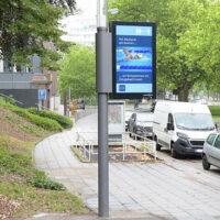 В немецком городе установили уличные фонари, которые заряжают электрокары и мониторят качество воздуха