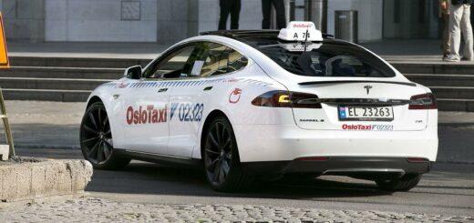 В Норвегии появится первая в мире беспроводная зарядка электрических такси
