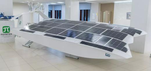Беспилотный экраноплан на солнечной энергии испытают летом на Неве