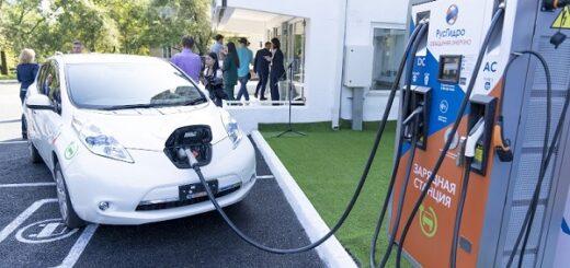На Дальнем Востоке общее число зарядных станций «РусГидро» для электромобилей достигло 13