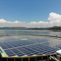 В Албании строят первый солнечный парк на воде