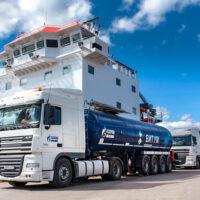 «Газпром нефть» впервые отгрузила битум потребителям в Норвегию
