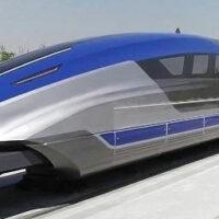 """В Китае тестируют """"летающий"""" поезд, проектная скорость которого составляет 600 км/час"""