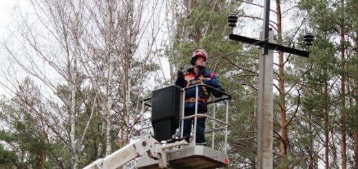 Энергетики ликвидируют последствия непогоды в Тверской области