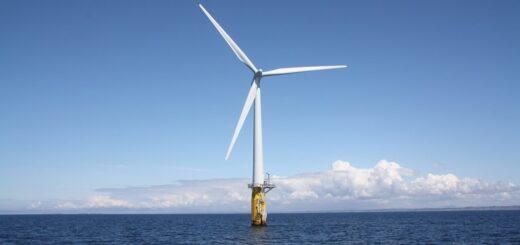 Китай установил свой первый ветрогенератор мощностью 10 МВт