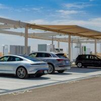 Volkswagen Group объявила об открытии одной из крупнейших станций зарядки электромобилей в Северной Америке
