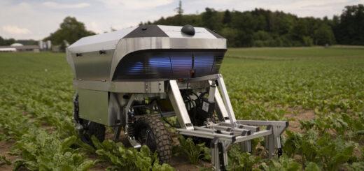 В Швейцарии презентовали робота на солнечной электроэнергии для сельскохозяйственных работ