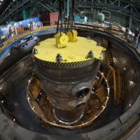 На Атоммаше успешно проведены гидроиспытания корпуса реактора для первого энергоблока строящейся АЭС «Аккую» в Турции