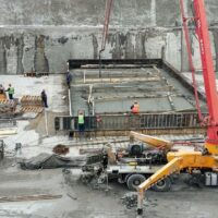Завершена разработка котлована на строительстве Красногорских МГЭС