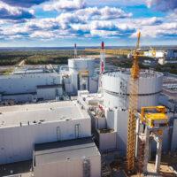 На Ленинградской АЭС начались пусковые операции на новом энергоблоке