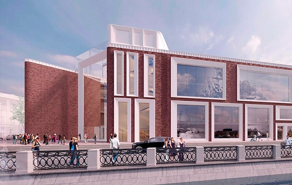 В Москве ведутся работы по технологическому присоединению нового здания Третьяковки к сетям