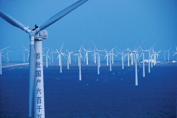 Китай уверенно движется к лидерству на рынке офшорной энергетики