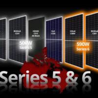 Canadian Solar выпустил на рынок новую серию модулей мощностью до 590 Вт