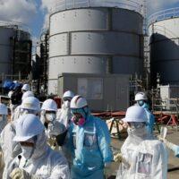 Жители Фукусимы протестуют против сброса радиоактивной воды с АЭС