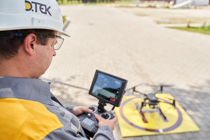ДТЭК Сети внедрил проект по использованию дронов для обследования линий электропередач