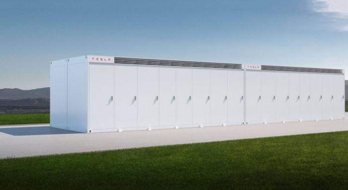 Tesla стала поставщиком хранилищ Megapack для центра обработки данных Switch