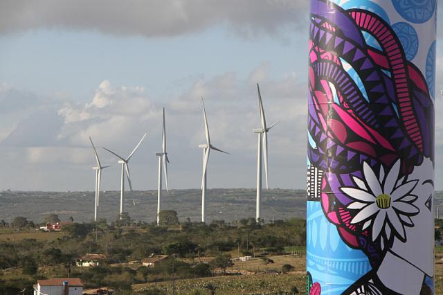 Бразилия запустила ветровые станции общей мощностью 101 МВт