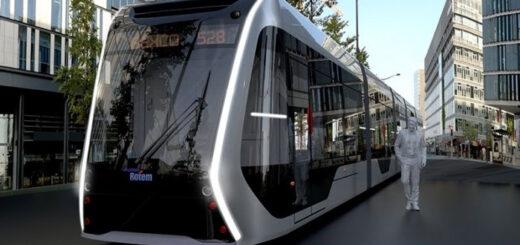 В Корее представлен проект трамвая на водородном топливе