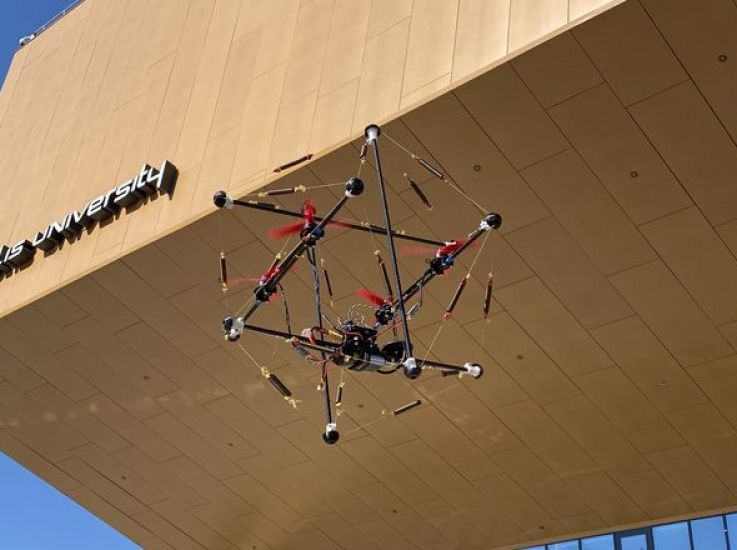 В России сконструировали дрон, способный выдерживать падения с 20-метровой высоты и при этом сохранить работоспособность после удара